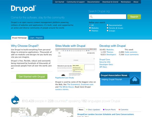 دروپال - DRUPAL