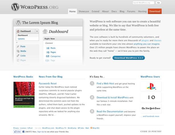 سیستم مدیریت محتوا - وردپرس - WORDPRESS