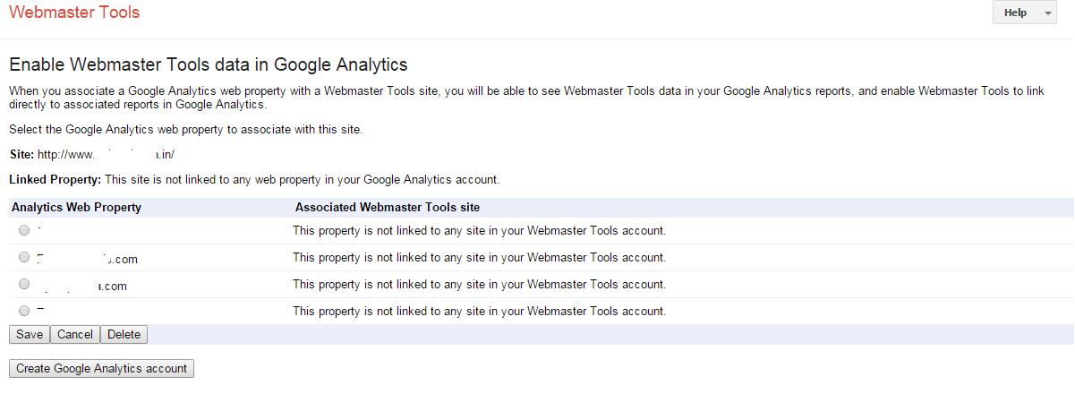 Google-webmaster-tool-analytics-properties